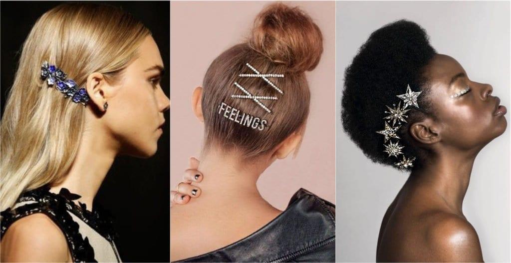 Como usar grampo de cabelo