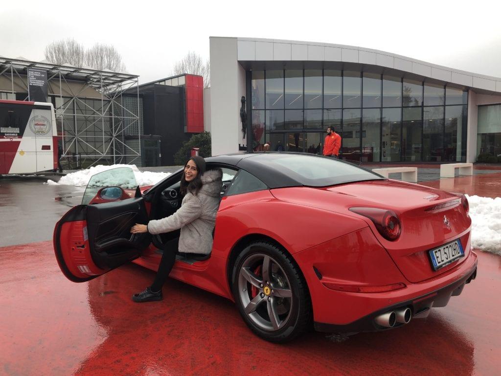 Dirigir Ferrari em Maranello