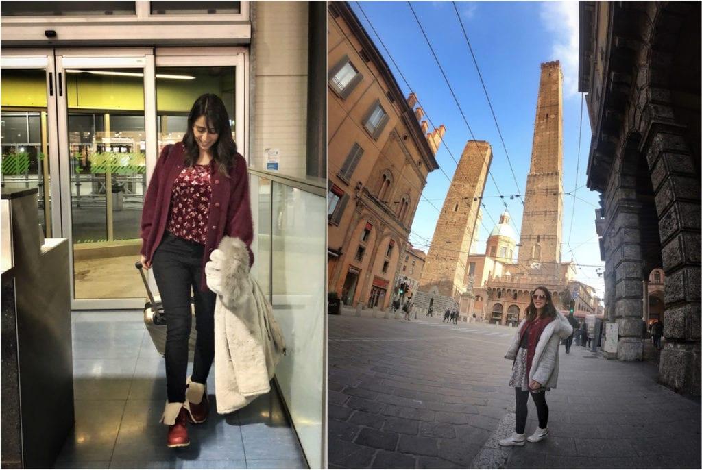 Roupa para inverno na Itália