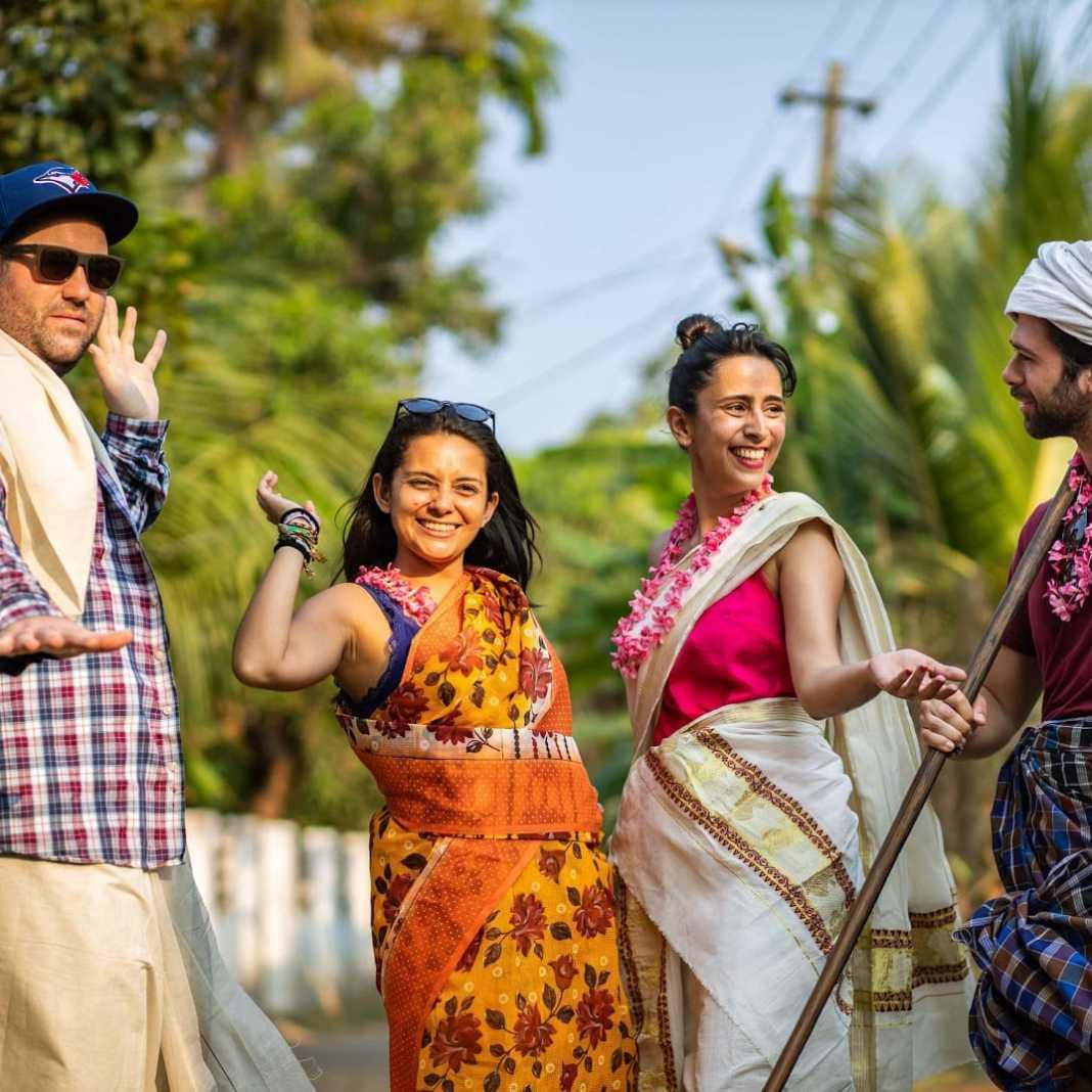 roupas típicas, Kerala, Índia