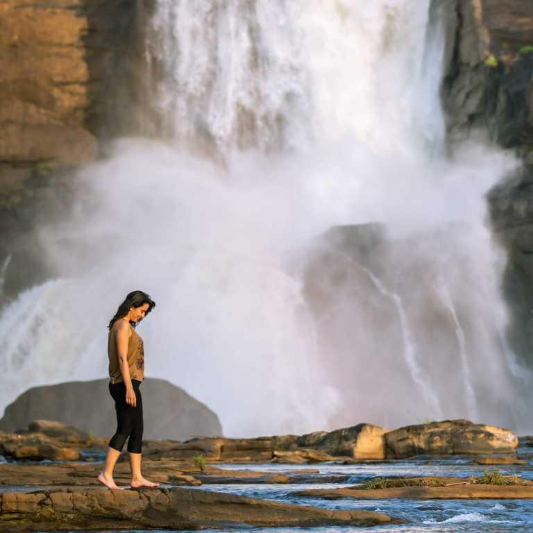 Cachoeira na Índia!