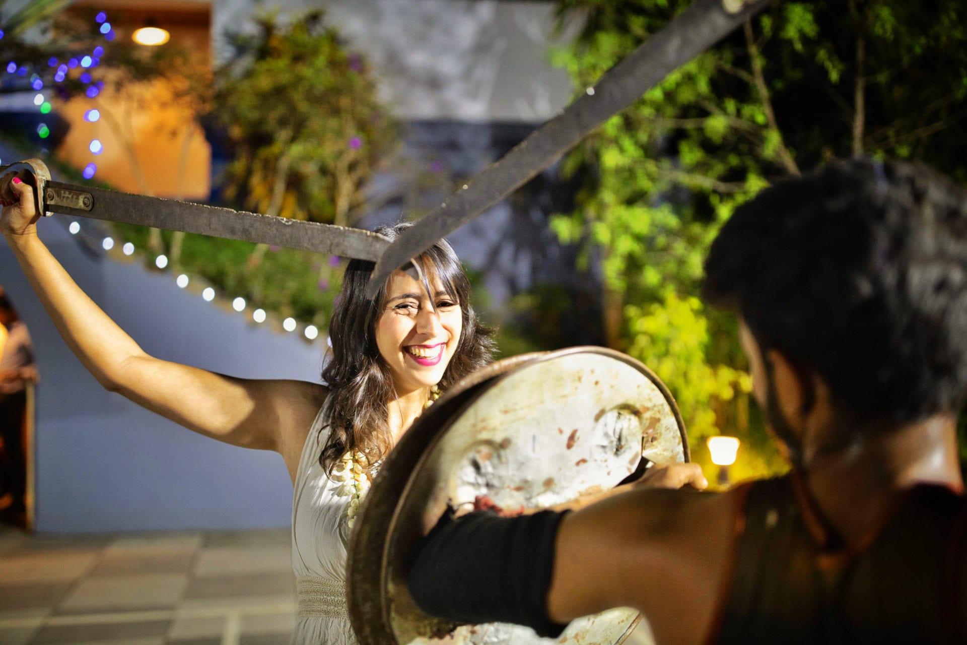 Kalaripayattu Arte Marcial indiana