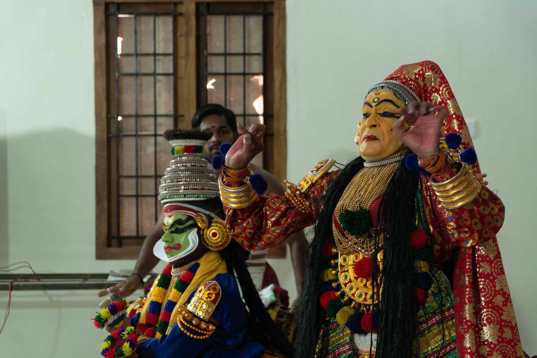 Kathakali teatro Kerala Índia