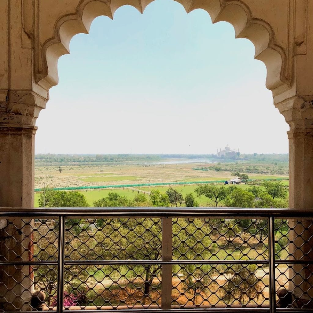 Taj Mahal e Agra Fort