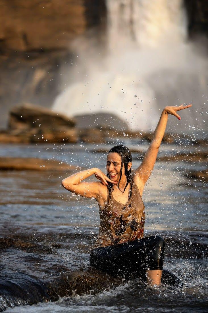 Athirapilly Waterfalls, India