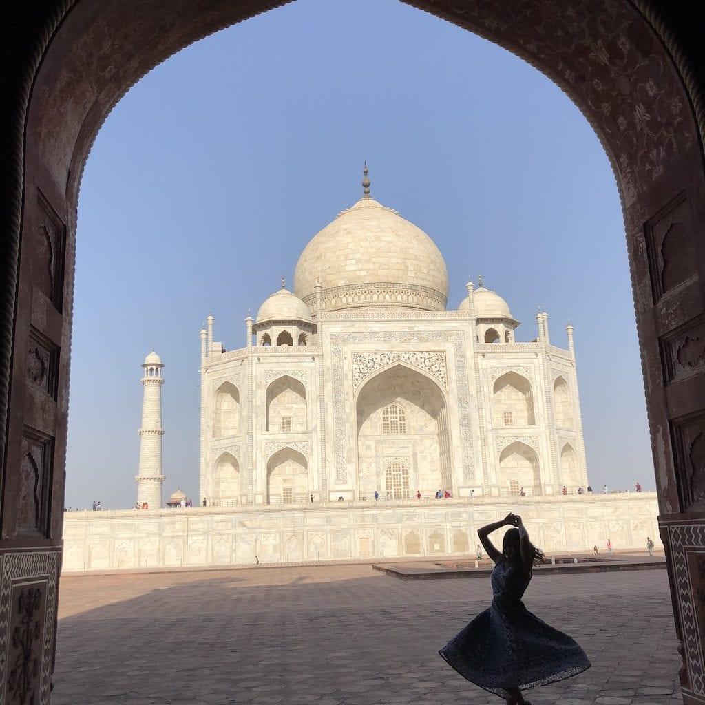 Como tirar fotos boas no Taj Mahal