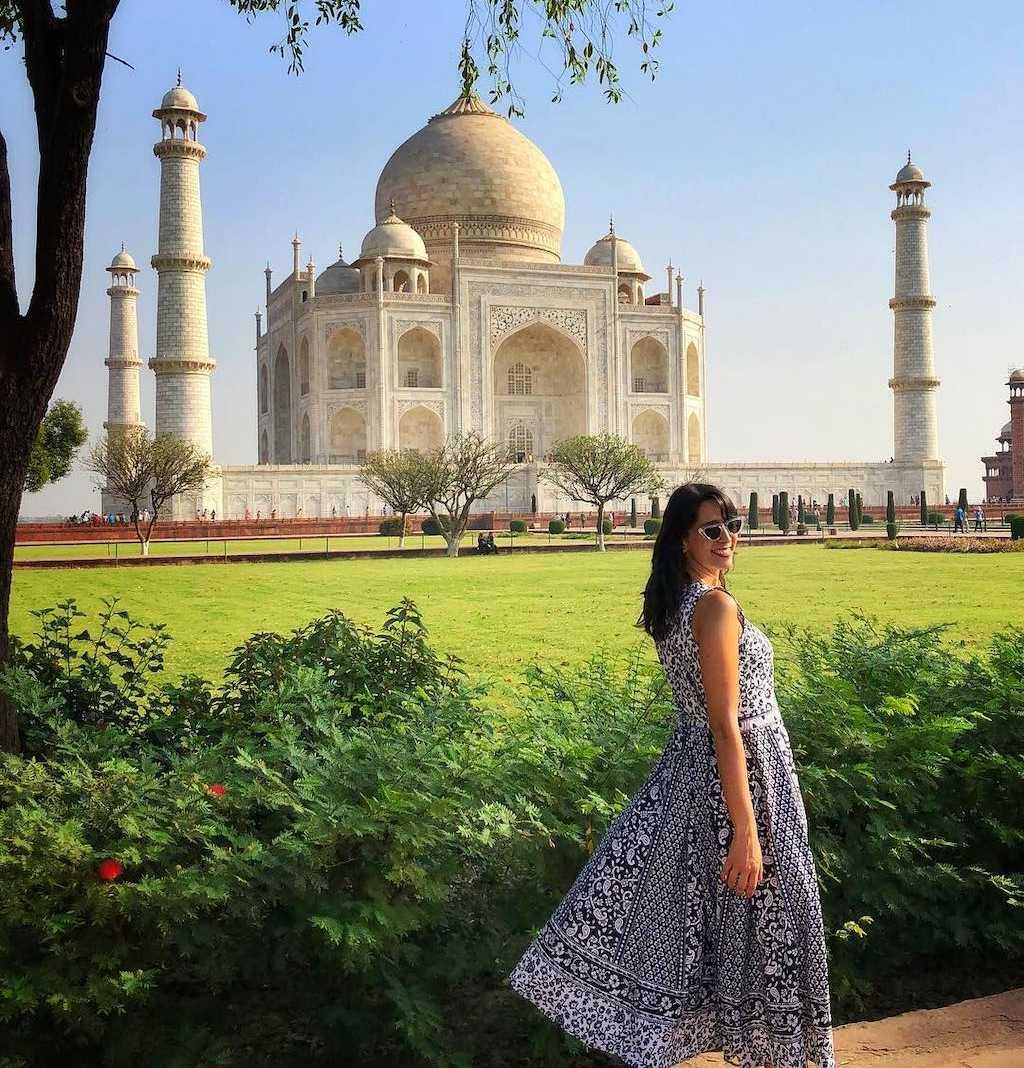 Compras na Índia Taj Mahal