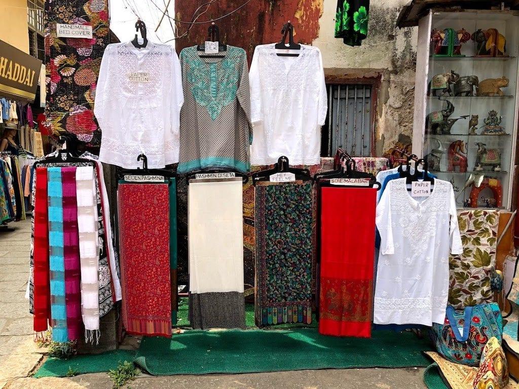 Compras na Índia