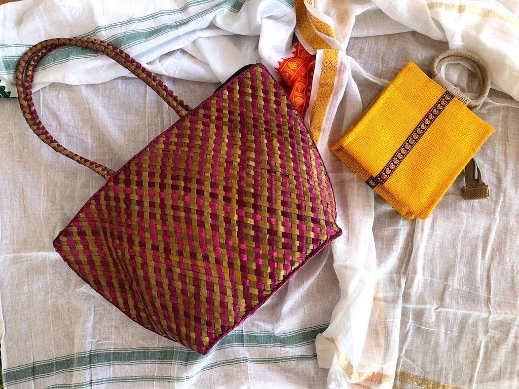 Compras em Kerala na Índia