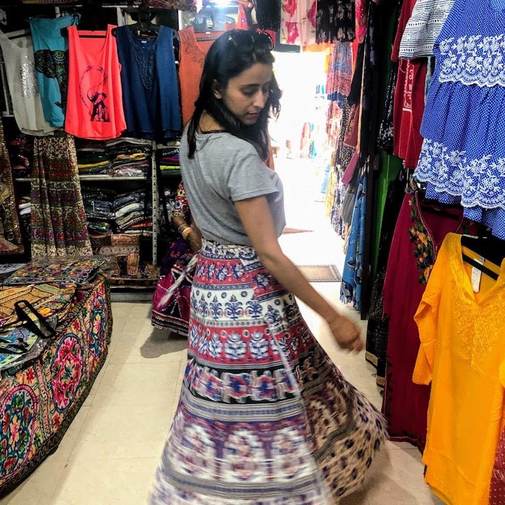 Compras na Índia: Kovalam