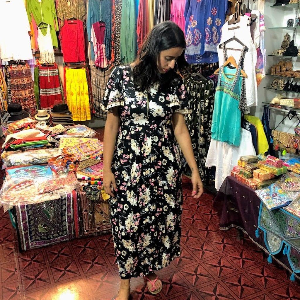 Comprar roupa na Índia