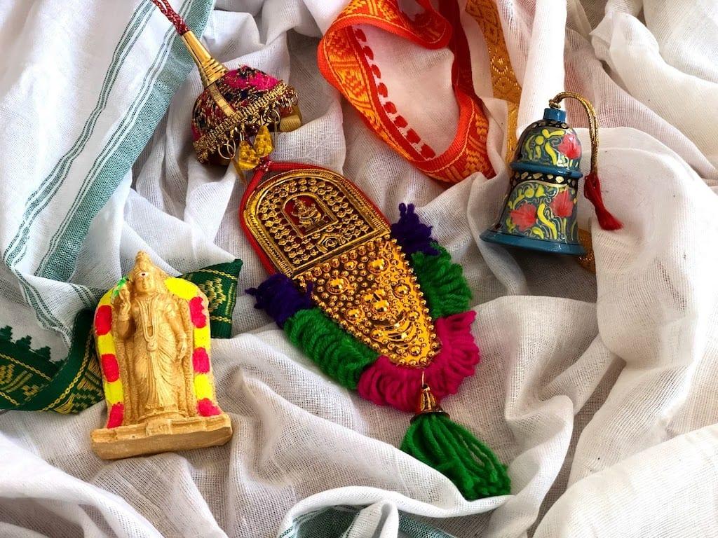 Compras na Índia Souvenir