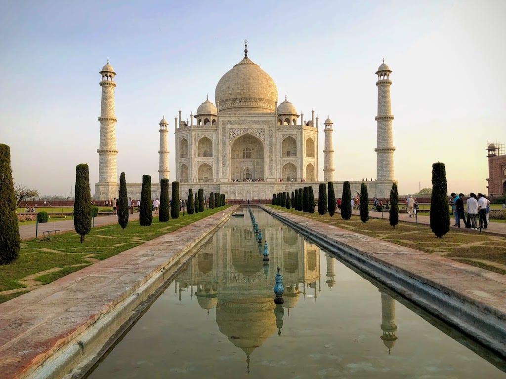 História do Taj Mahal