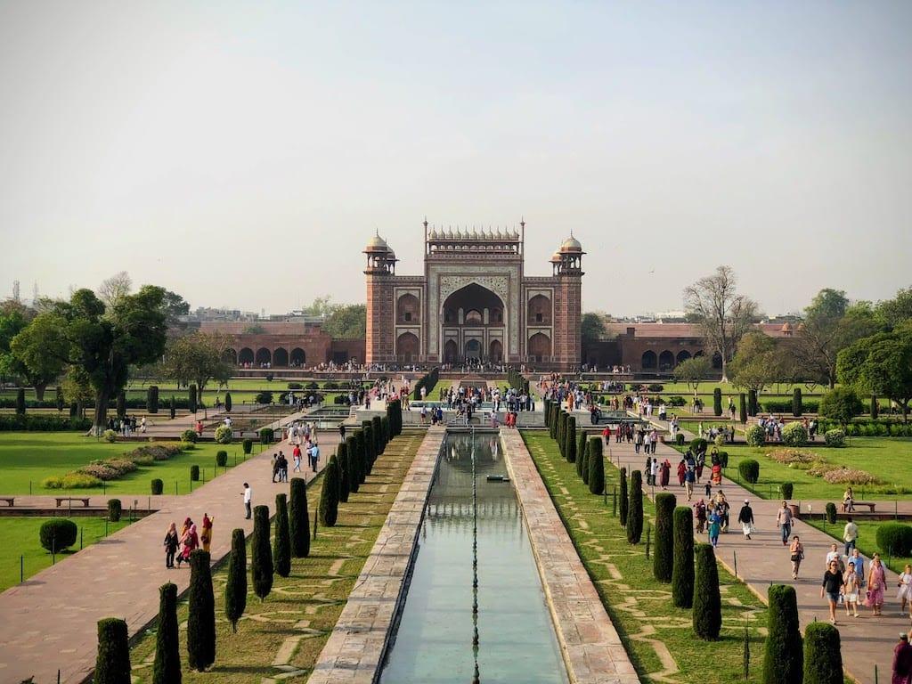 Melhor época para visitar Taj Mahal