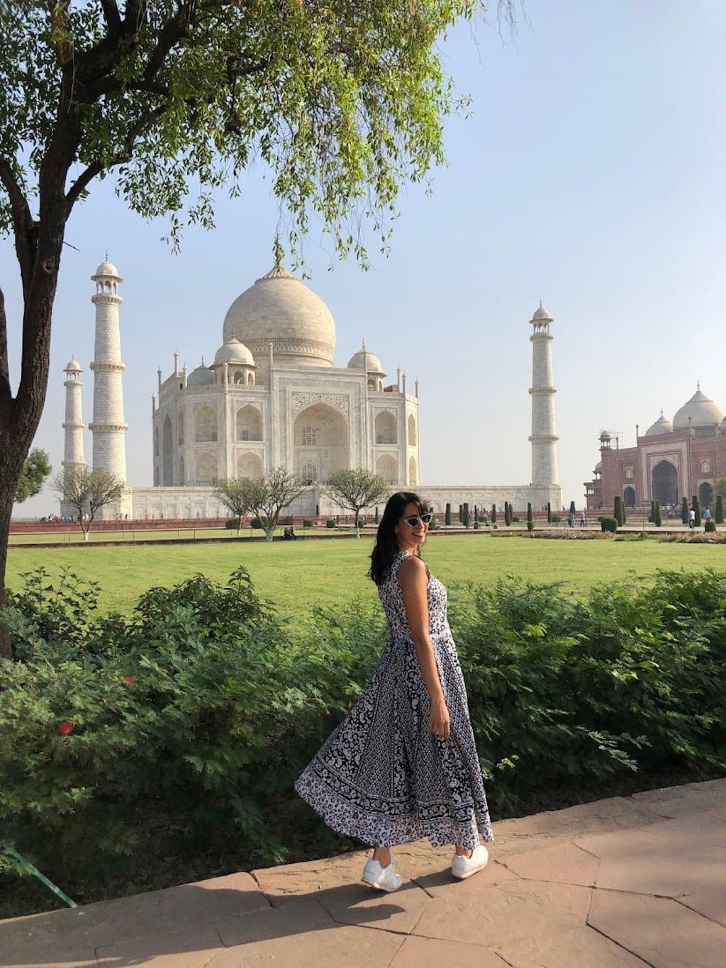 Que roupa usar no Taj Mahal