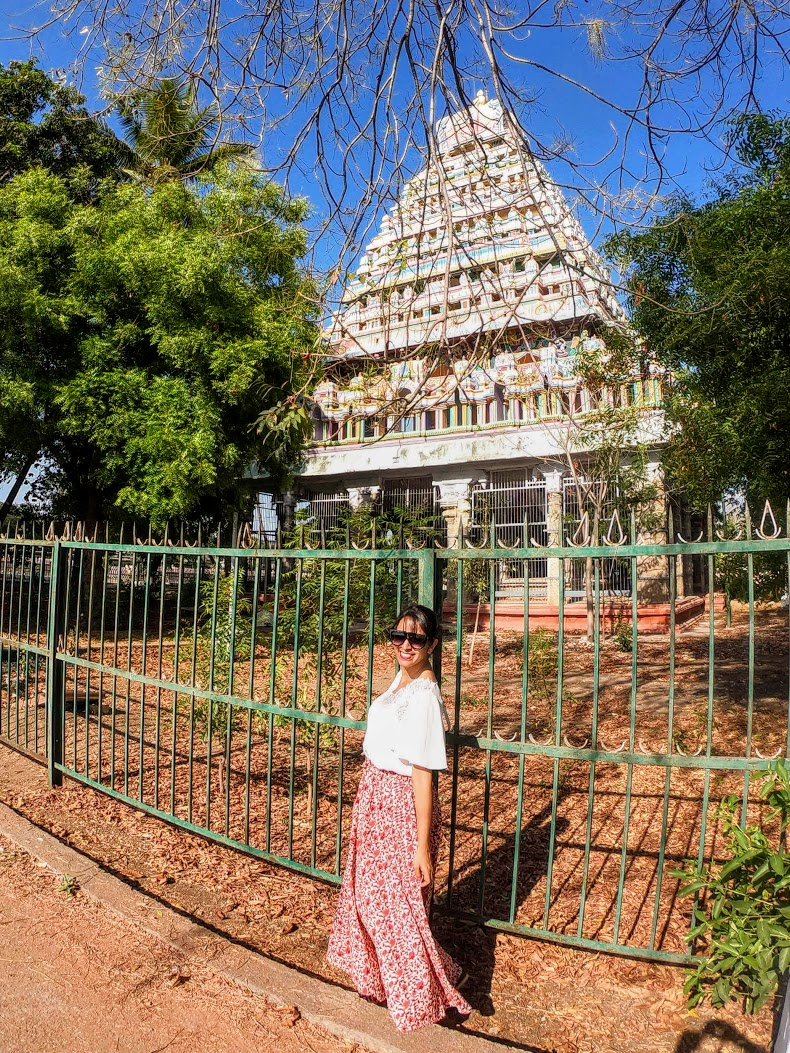 Roupa para visitar templo na índia