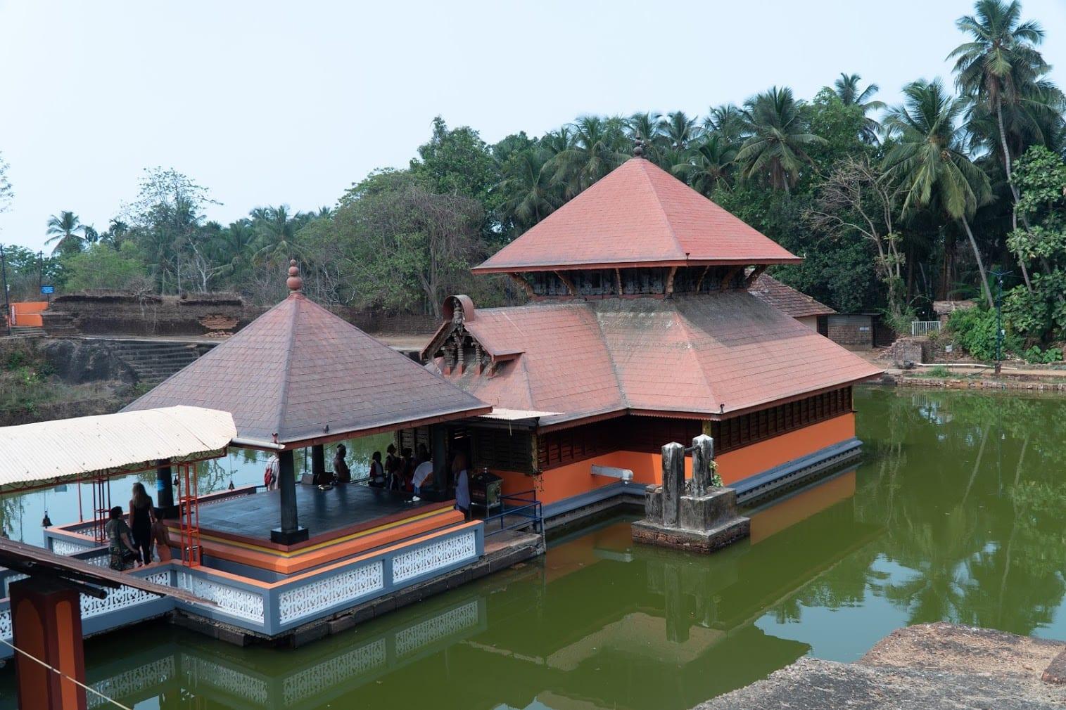 Templo em Kerala, India