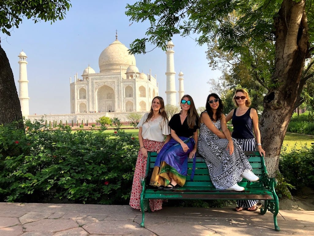 Tour no Taj Mahal