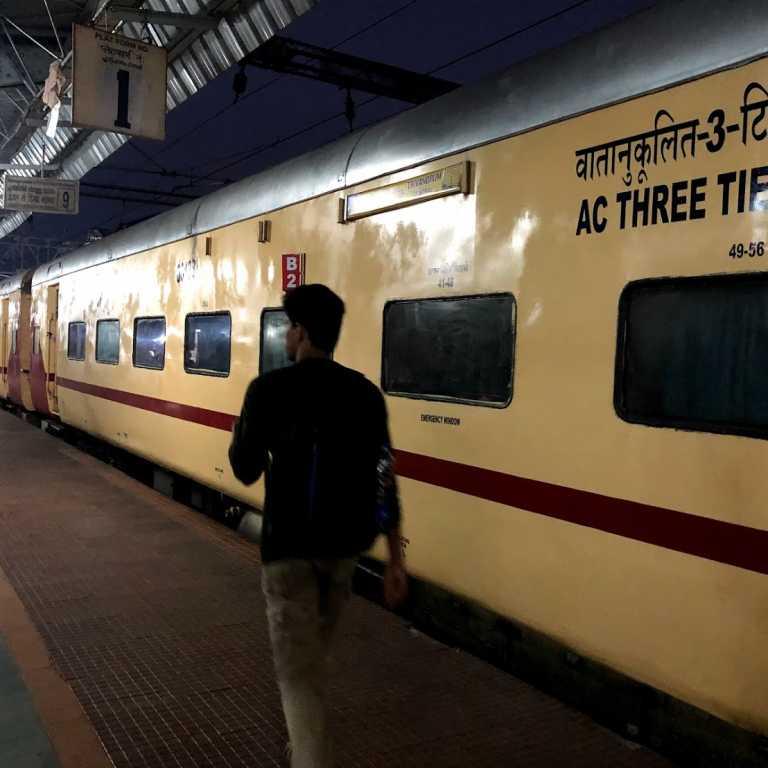 Trem na Índia!