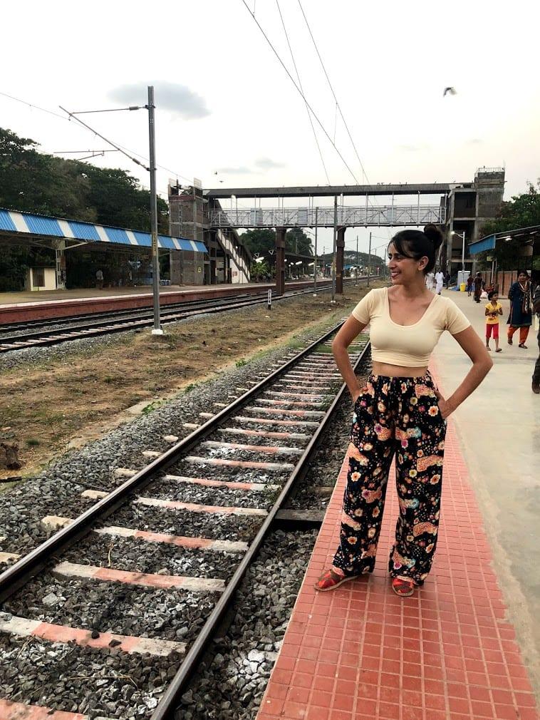 Viajando de trem pela Índia