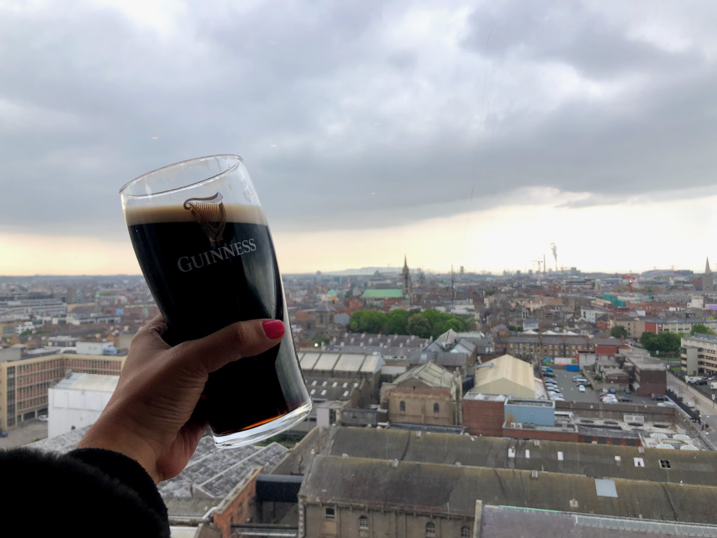 bar Guinness storehouse Dublin