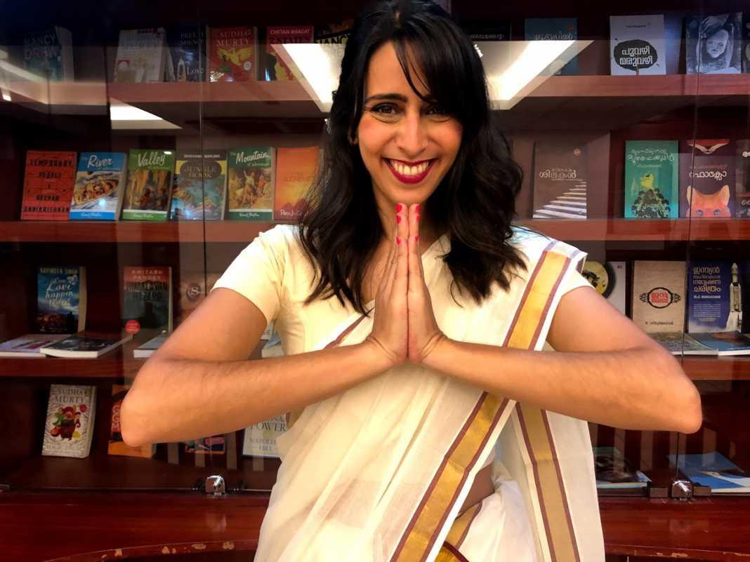 Como vestir sari indiano