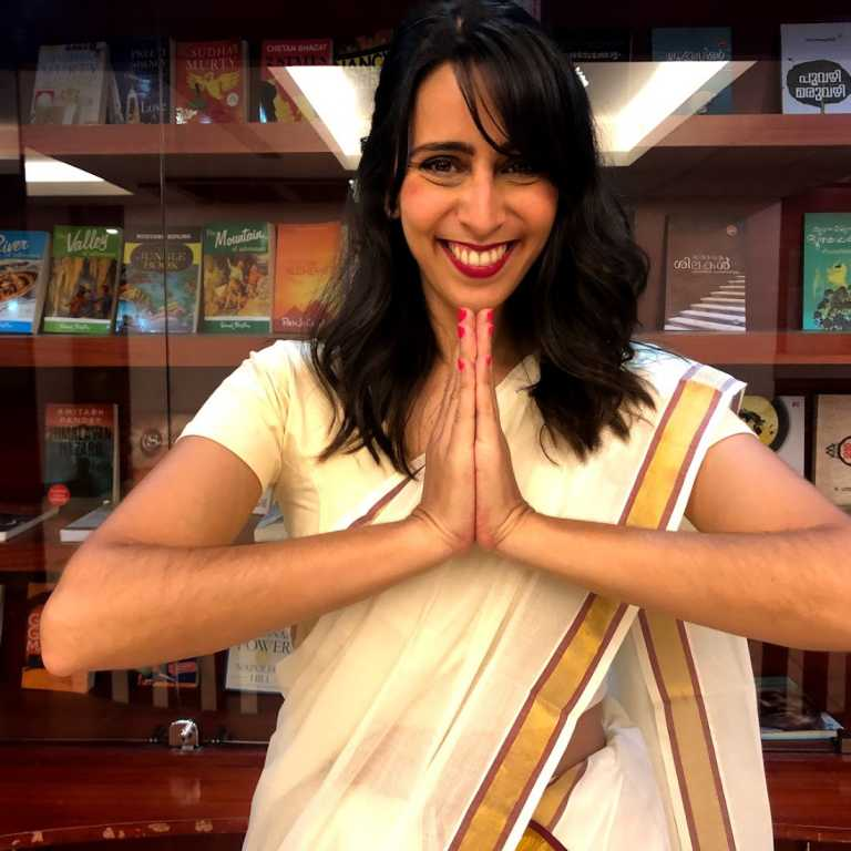 Como vestir um Sari!