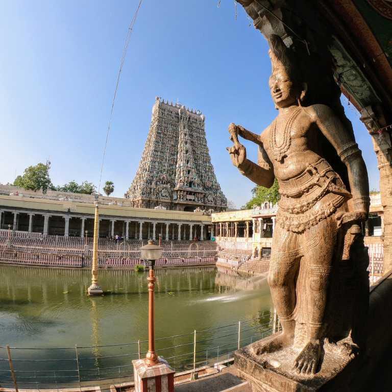 Templos hindus em Madurai!