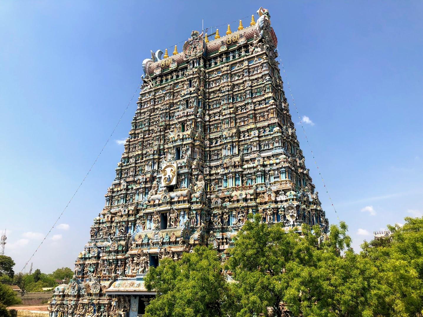 Meenakshi Amma madurai templo