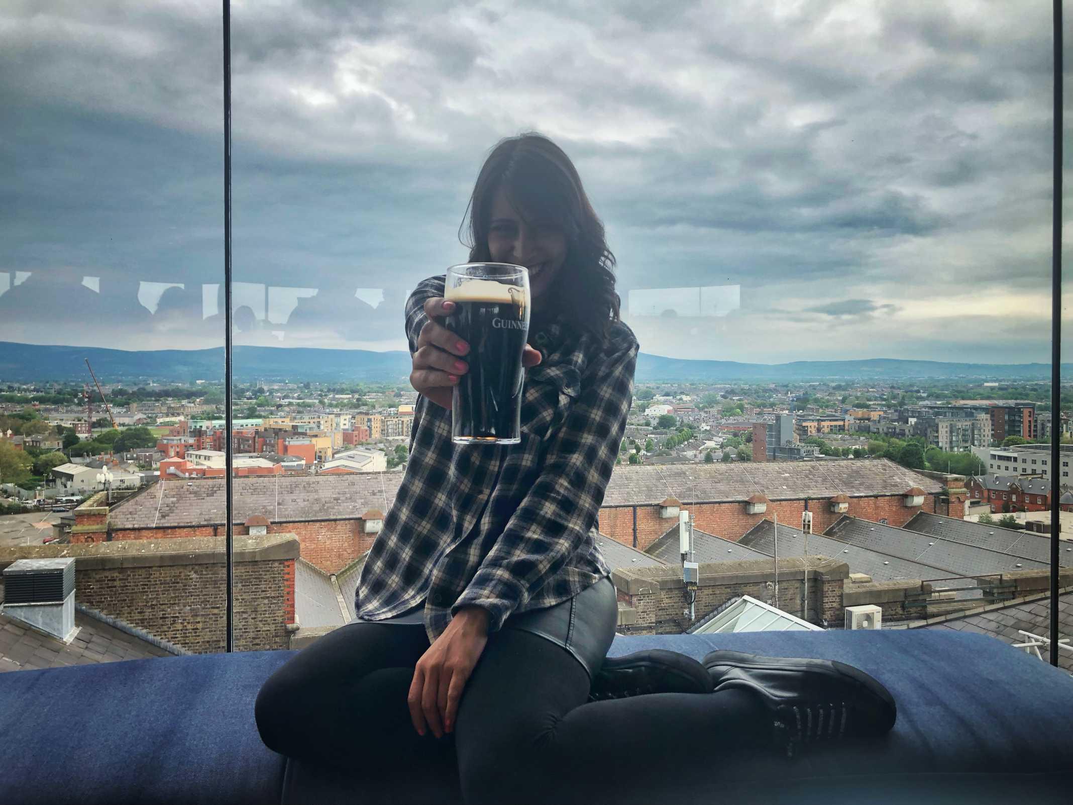 Bar Fábrica Guinness Dublin
