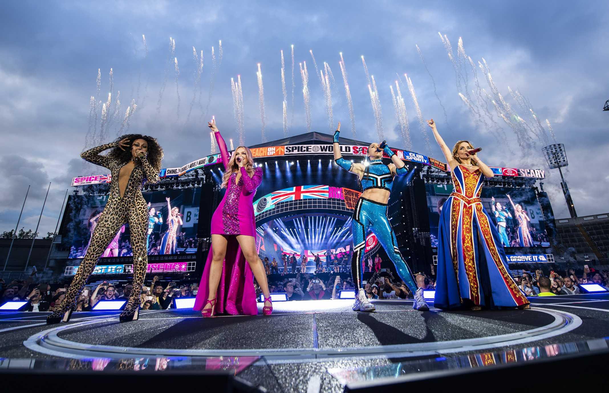 Figurino das Spice Girls