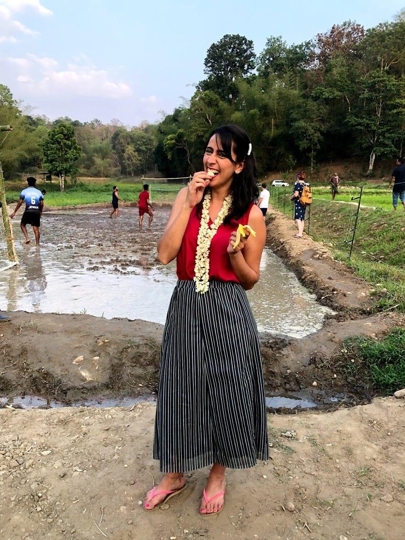 Futebol na lama Wayanad