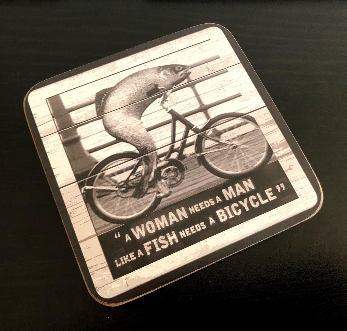 Guinness Fish Bike