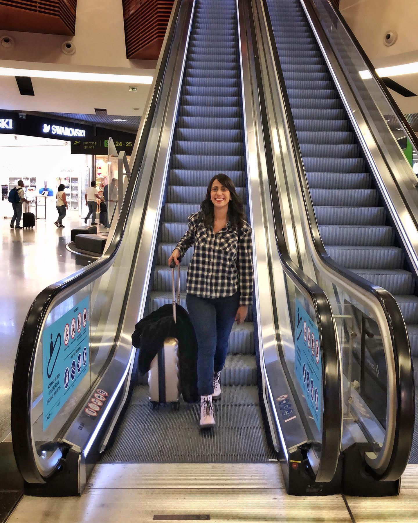 Look de Viagem Aeroporto