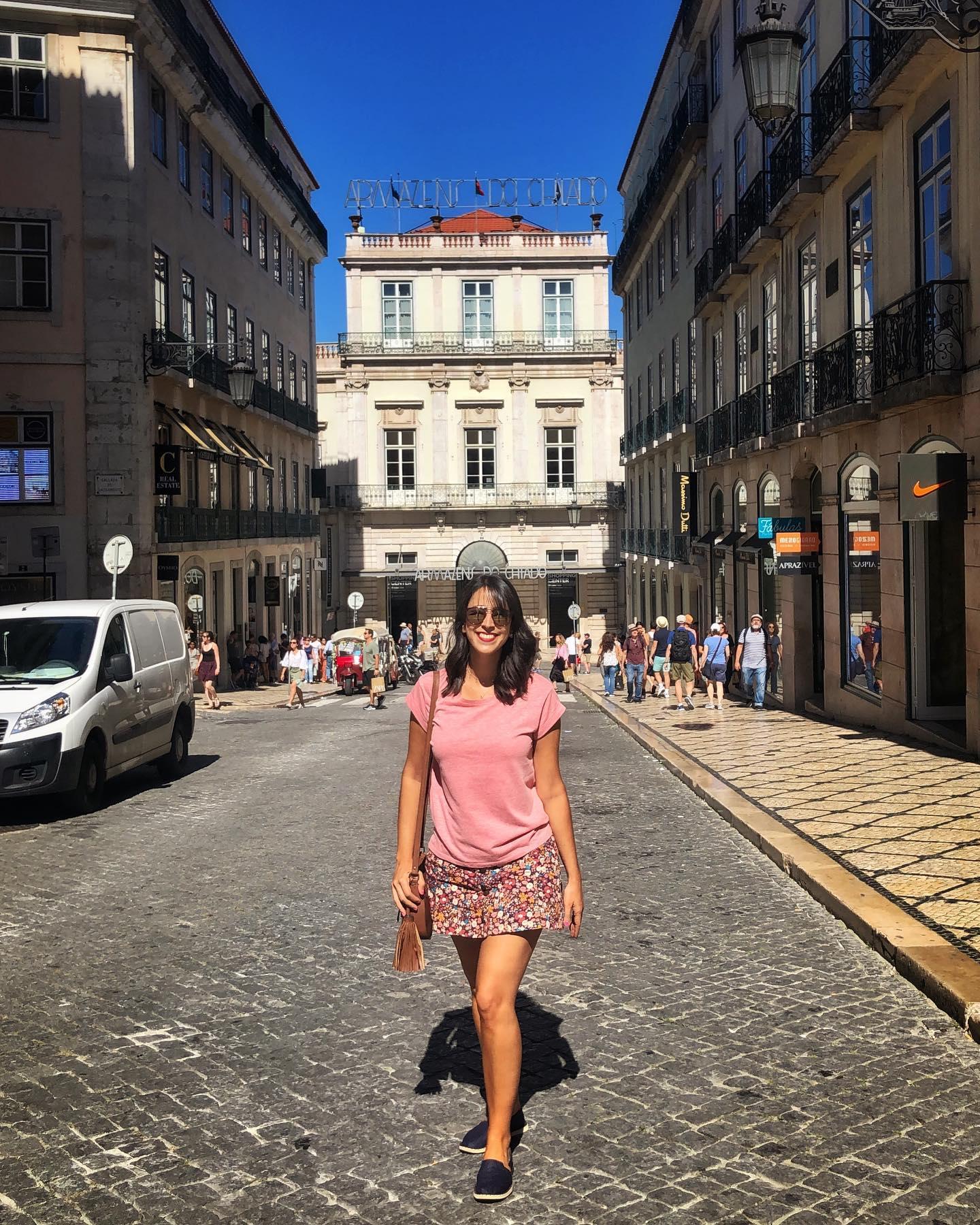 Look para primavera em Portugal
