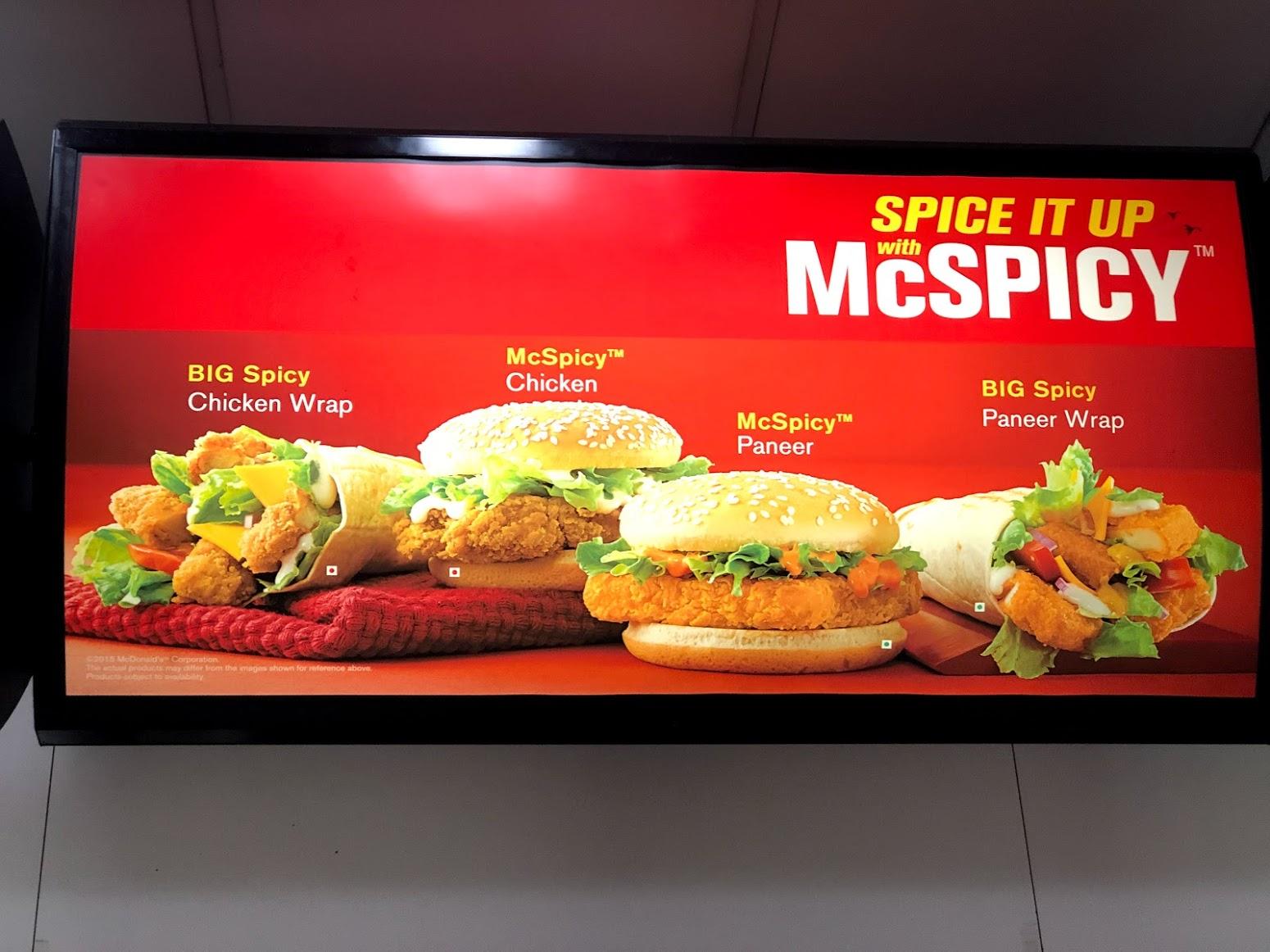 McDonald's Índia