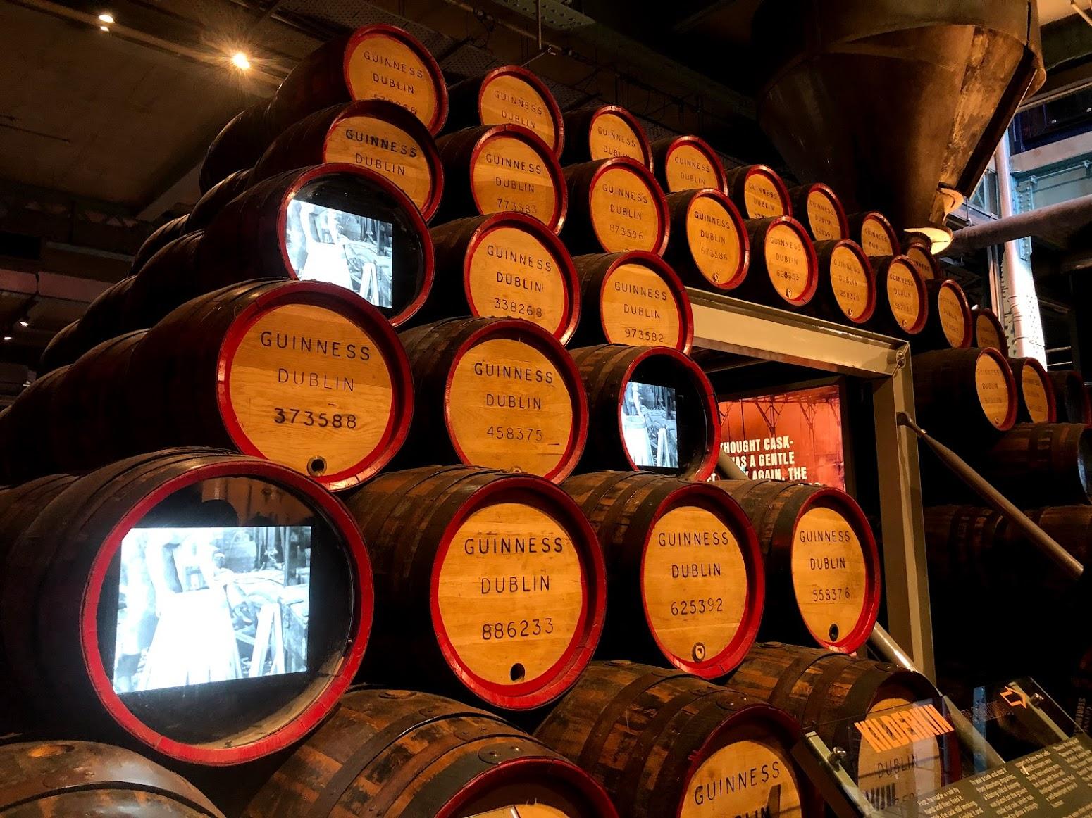 Museu Guinness Dublin Irlanda
