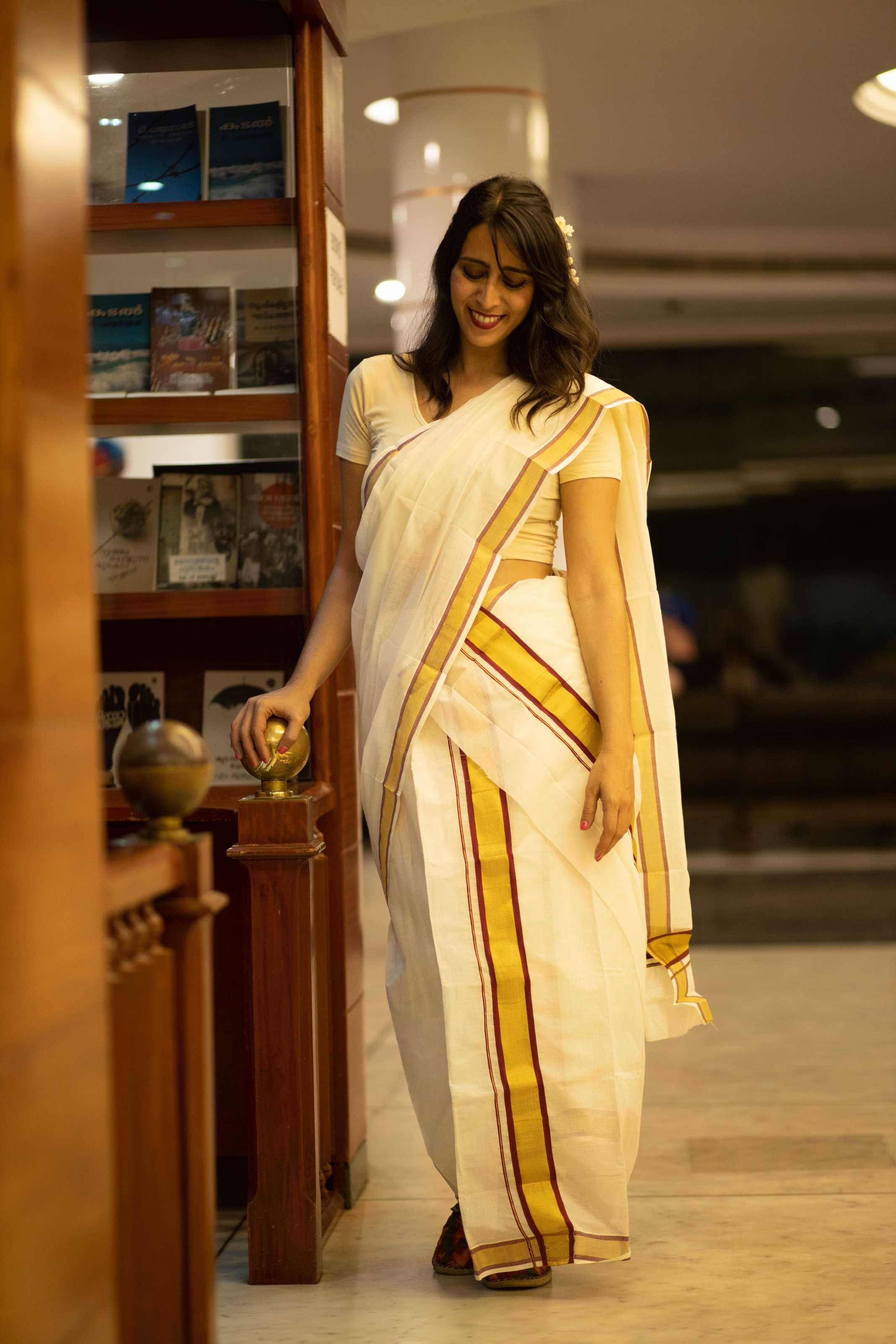 Saree Kerala India