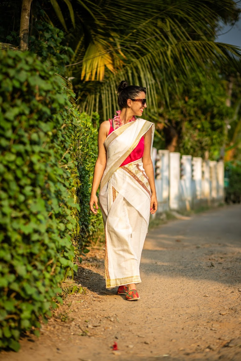 Sari Kerala Índia