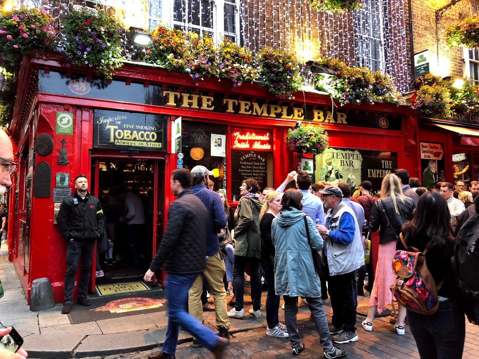 Pubs em Dublin: The Temple Bar Pub