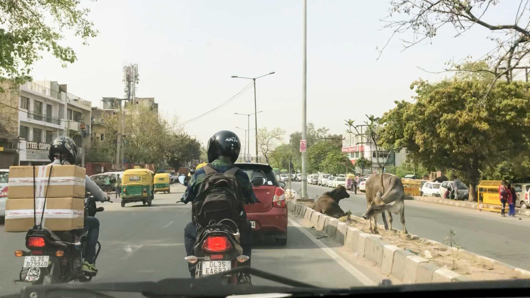 Trânsito na Índia