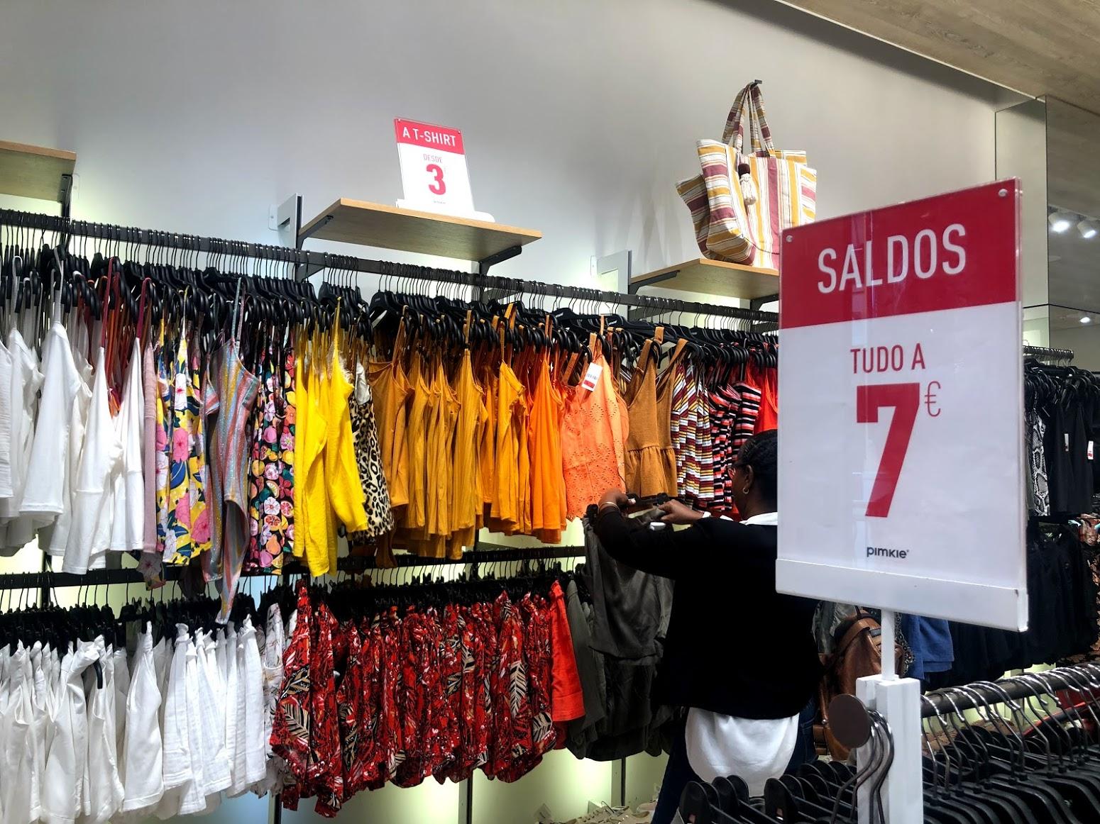 Compras em Portugal: Pimkie