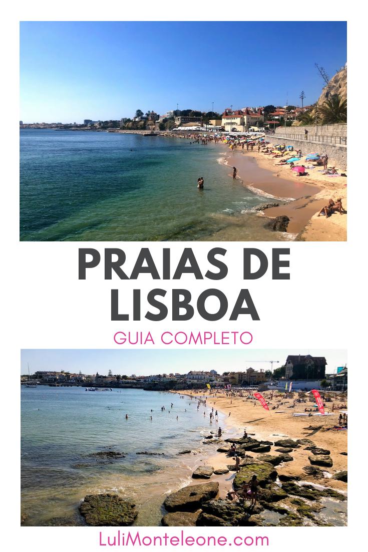 Guia de Praias de Lisboa, Portugal