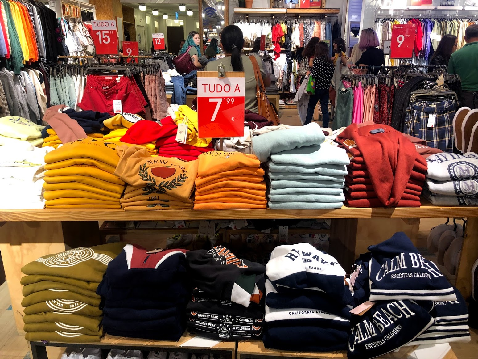 Compras em Portugal: Pull & Bear