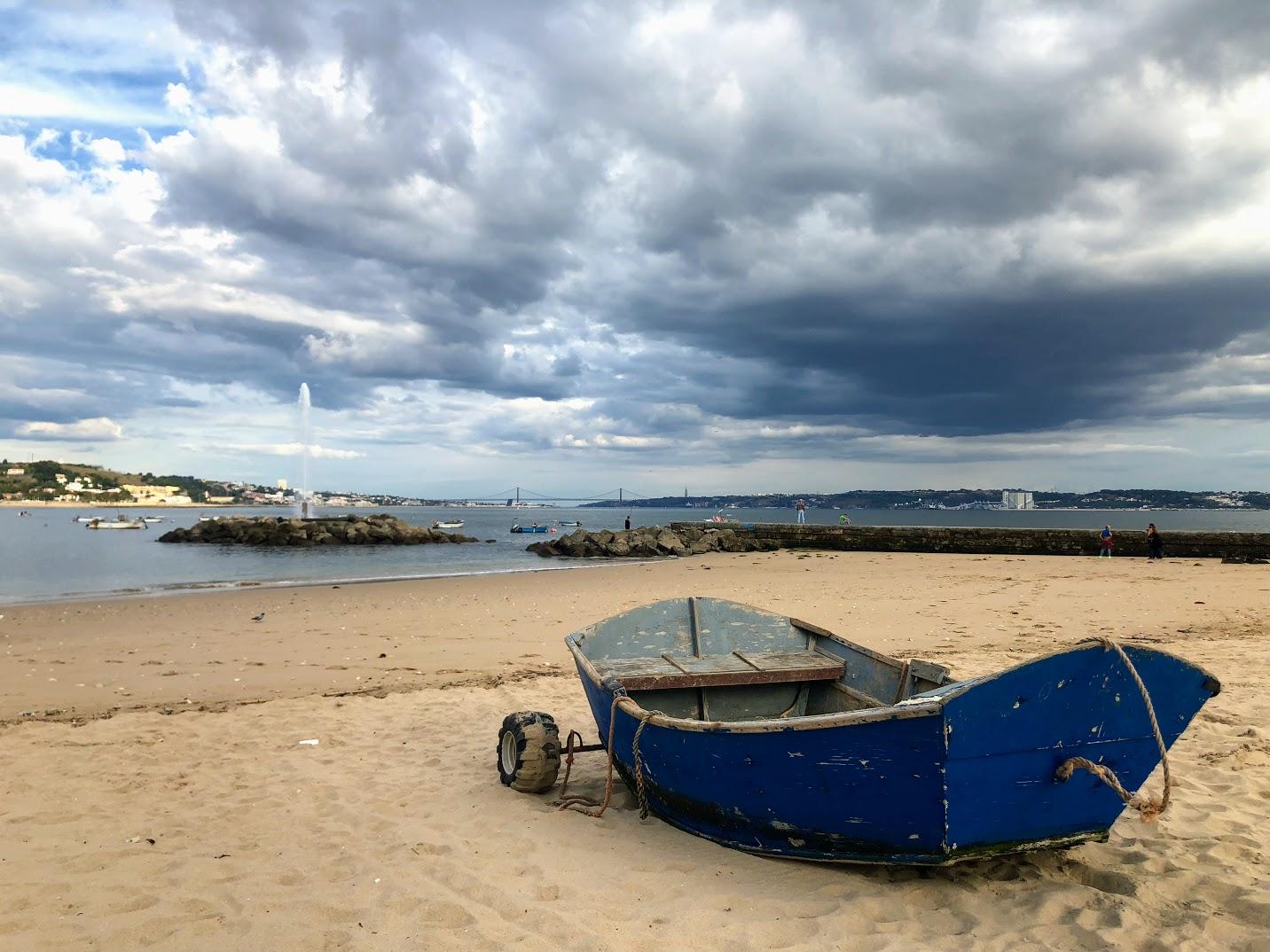Praias de Lisboa: Praia Velha