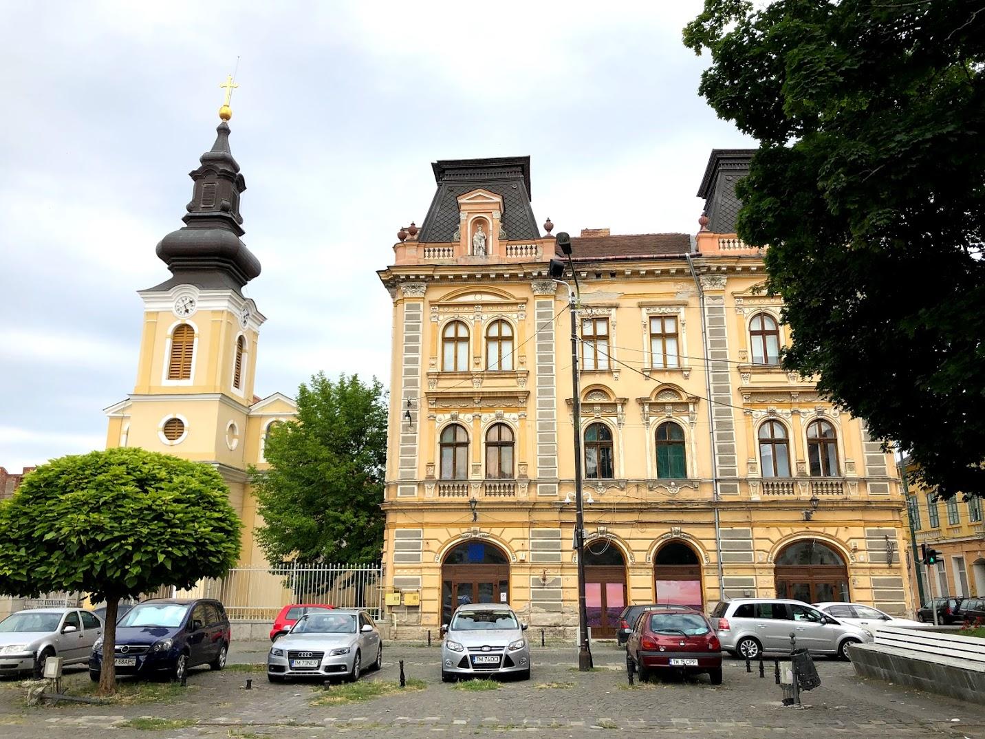 Arquitetura Timisoara Romênia