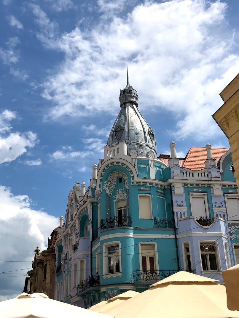Art Nouveau Oradea Romania