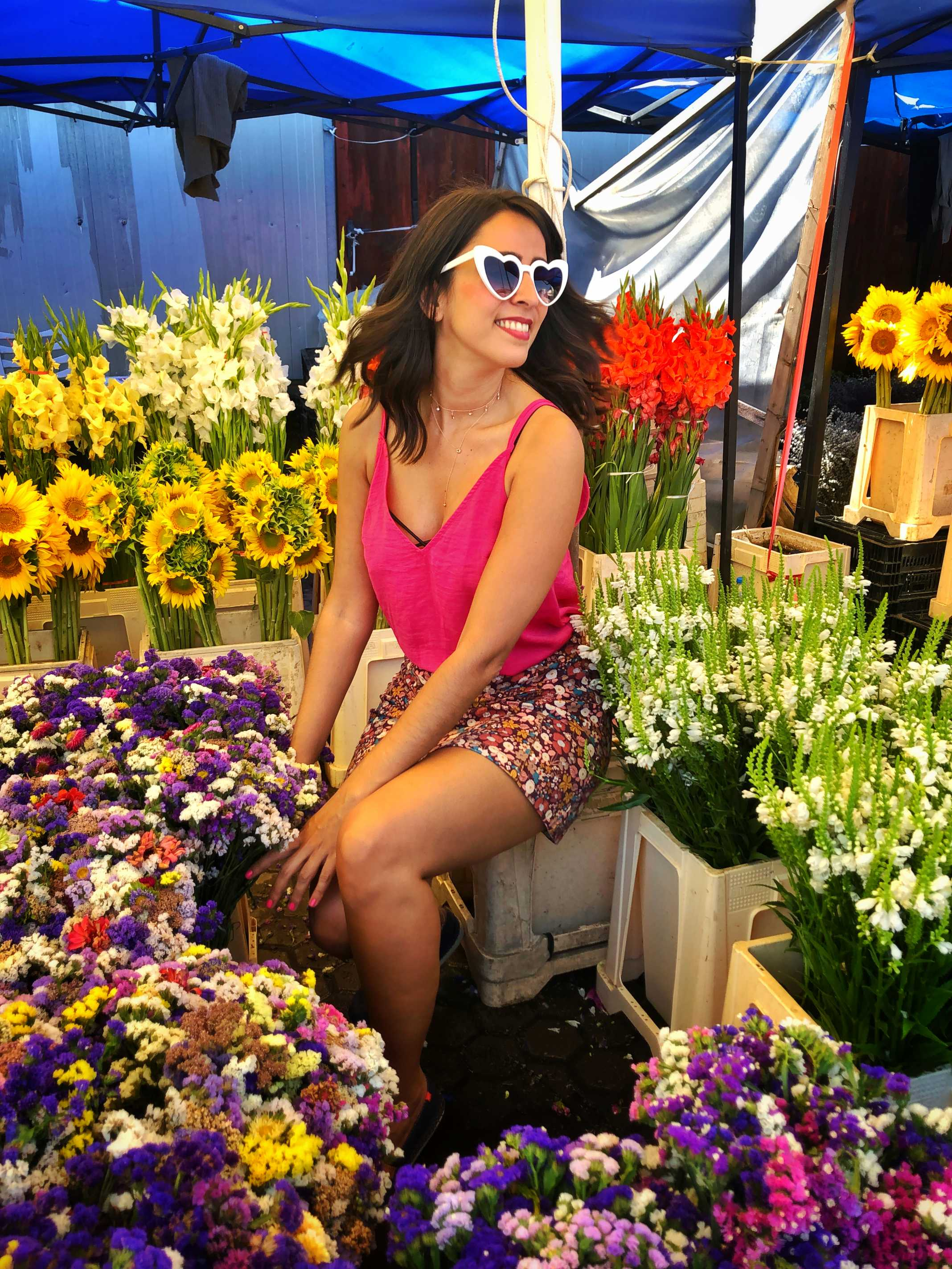 Bucharest Flower Market Romania