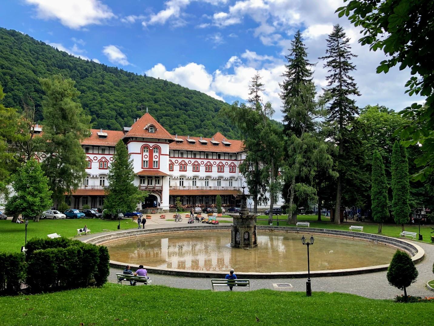 Parque Sinaia Romênia