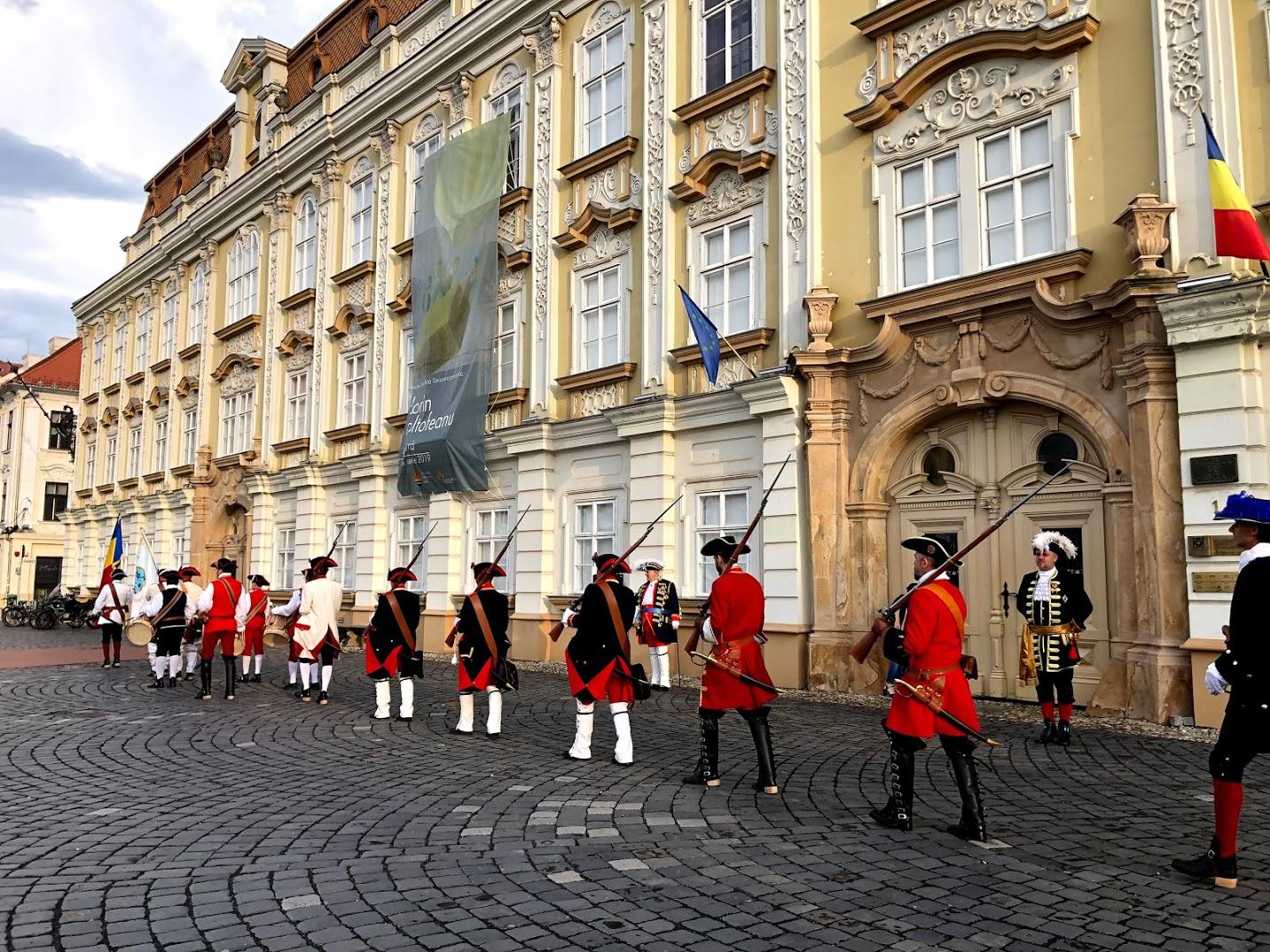 Troca da Guarda Timisoara Romênia